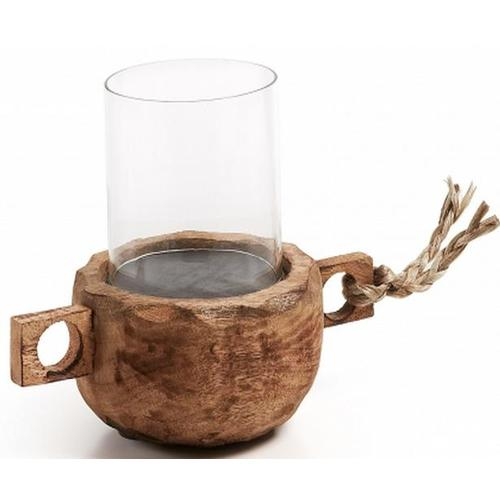 Деревянный подсвечник KELO Laforma