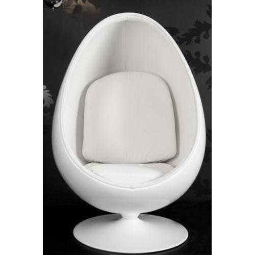 Кресло Egg Shell (Z15536) Invicta белое