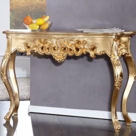 Консоль Venezia Ornament Gold 110cm (Z15633) золото Invicta