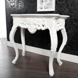 Консоль Venezia Ornament White 85cm (Z22887) белый Invicta