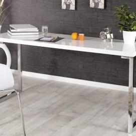 Стол рабочий Ariel белый140x60 cm (Z21141) Invicta