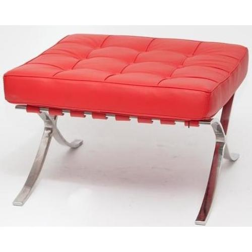 Банкетка Барселона красная кожа HOME Design