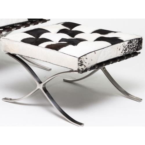 Банкетка Барселона черно-белая HOME Design