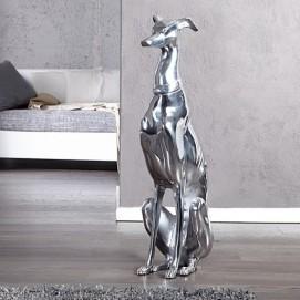 Статуэтка Собаки серебро 70 cm (Z8891) Invicta