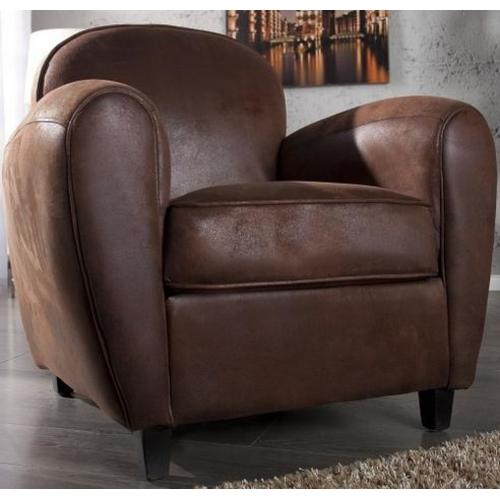 Кресло Cigar Club коричневое (Z35019) Invicta
