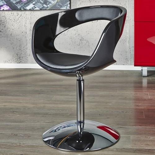 Кресло офисное оборотное Retro Easy All (Z11181) Invicta черное