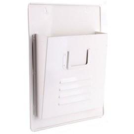 Газетница настенная Simple белая 40cm (D687013) HOME Design