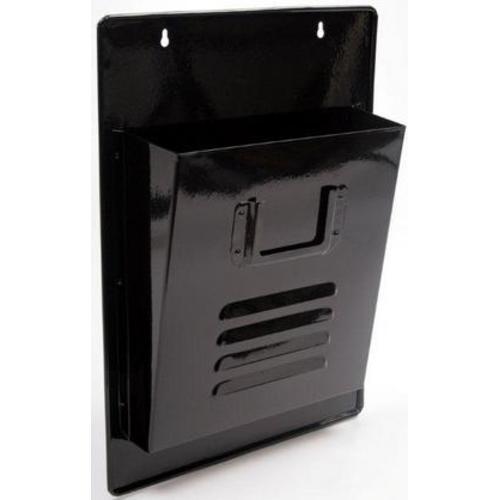 Газетница настенная Simple черная 40cm (D687017) Dyyk
