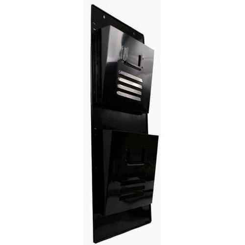 Газетница настенная черная  80cm (D687016) Dyyk