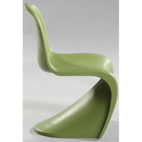 Стул детский Panton inspired Kid Zielony 2590 зеленый HOME Design