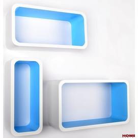 Набор полок Cube белые (VGL_LO88-BM) HOME Design