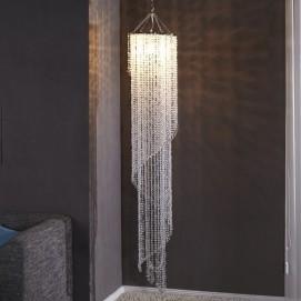Люстра каскад Crystal Rain (Z1541) Invicta  прозрачная