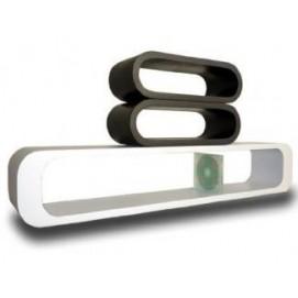 Набор полок Cube white/black, zestaw 3 szt. (VGL_LO12-BJ) HOME Design