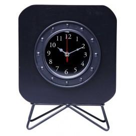 Часы настольные Table Clock Portilla 37429 DD черные