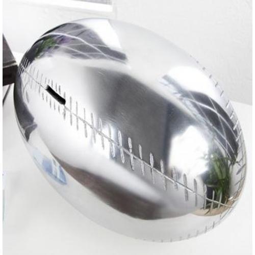 Копилка Rugby League 30cm (Z21702) серебро Invicta