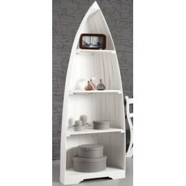 Этажерка Лодка Sailing Boat белая 200cm (Z35235) Invicta