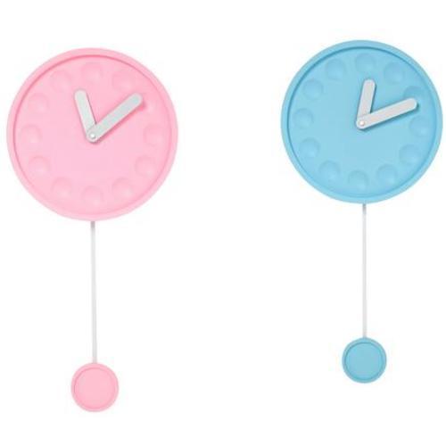 Часы настенные Wall Clock Candy Pendular Assorted 35462 розовый