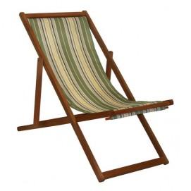 Шезлонг KASA, 109,5x59,5xH83,5cm beige striped, Garden4you