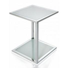 Стол кофейный Cube Glass (Z16618) прозрачный Invicta