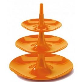 Подставка под фрукты Patera Babell Czarna оранжевая Home Design