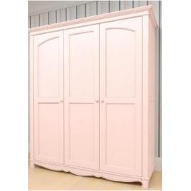 Шкаф 3х створчатый Канон розовый