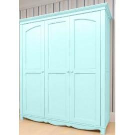 Шкаф 3х створчатый Канон голубой