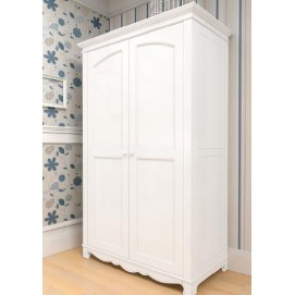 Шкаф двухстворчатый Канон белый