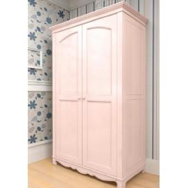 Шкаф двухстворчатый Канон розовый