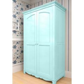 Шкаф двухстворчатый Канон голубой