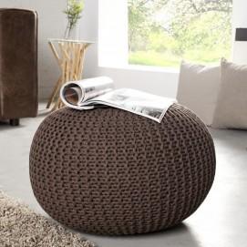 Пуф Ball 50cm (Z35091) Invicta коричневый