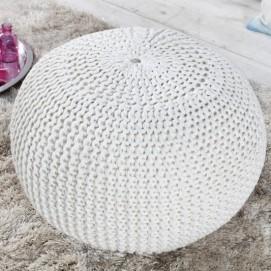 Пуф Ball 50cm (Z23100) Invicta белый