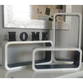Набор полок Clubbin SMALL Cube белые Z22563 Home Design