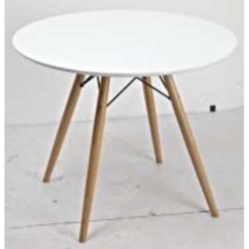 Стол обеденный Paris 130-XWD 80 см Primel белый