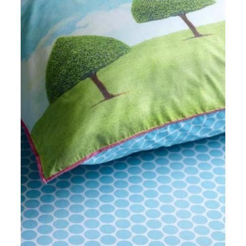 Простынь Big Dots 90 x 200 Blue