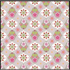 Простынь Star Flower khaki 90 x 200