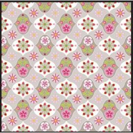 Простынь Star Flower khaki 140 x 200  Khaki