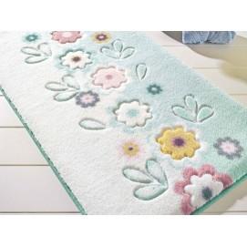 Коврик для ванной Confetti April Turquois 80х140 см