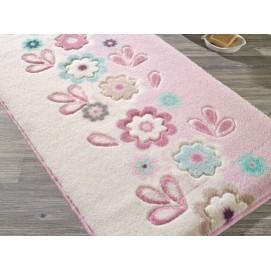 Коврик для ванной Confetti April Pink 55х57 см