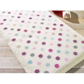Коврик для ванной Confetti Polka Lilac (Lila) 57х100 см
