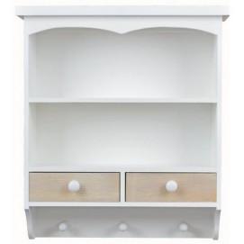Шкаф навесной с вешалкой SZYBĄ 31589 Exaw белый