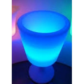 Ведро для льда и бутылок lit ice bucket в виде рюмки