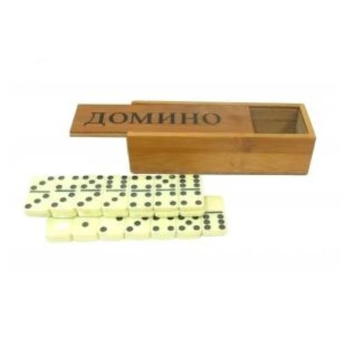 Домино в бамбуковой коробке (д-18)