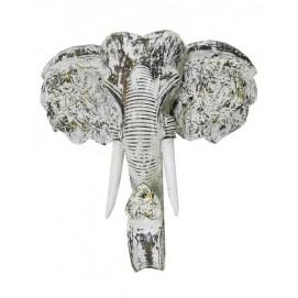 Маска слона, цвет белый (мс-13)