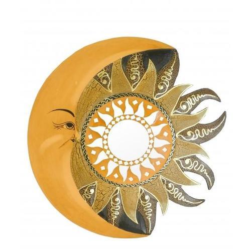 Солнышко с месяцем и зеркалами, 3 цвета (си-107)