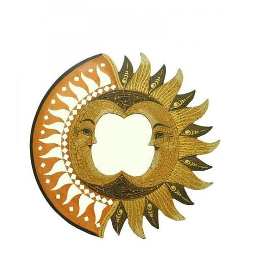 Солнышко с изображением двух месяцев (си-62)