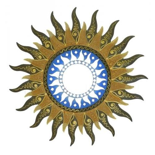 Солнышко с тонкими лучиками, 3 цвета (си-54)