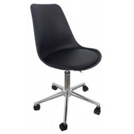 Кресло офисное HY126P-2 Primel черное есть 1шт