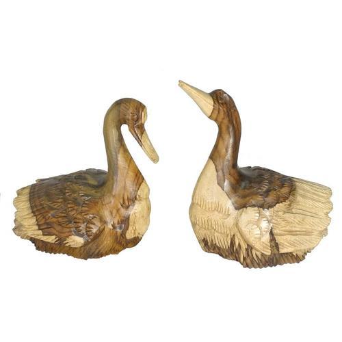 Статуэтка Лебеди соно, пара (лс-15)