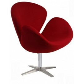 Кресло СВ красное Mebelmodern