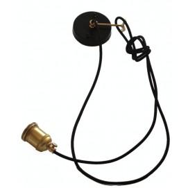 Лампа подвесная Паук 90 PikArt черная